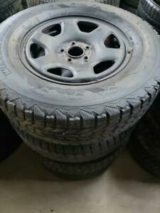 winter kit  ford escape  / Mazda tribute wheels and tires Firestone 16