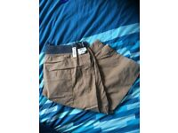 Men's 3/4 length trousers new with tags
