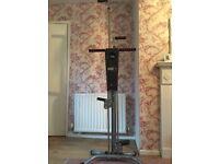 Maxi climber fitness machine full body workout