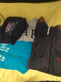 Hoodies and track tops aged 10