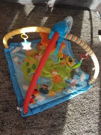Vtech little frendlies play gym with lights and sounds