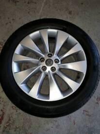 """Vauxhall 18"""" alloy wheels"""