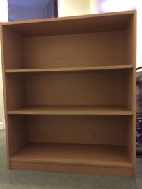 Ikea Billy bookcase in light oak finish in excellent condition