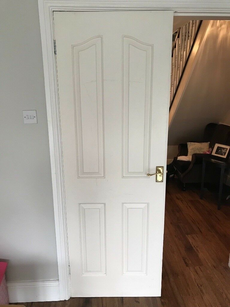 8 internal doors for sale with handles and hinges | in Lutterworth on