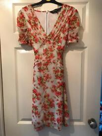 New Look floral dress (size 10) (worn once)