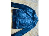 Zara men's leather jacket SOLD