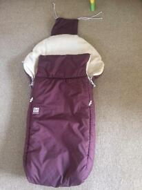 Cosytoes/foot muff, rrp £89