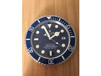 ROLEX OYSTER PERPETUAL SUBMARINER WALL CLOCK
