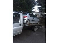 Recovery & Car Spares Plymouth (24/7 recovery from £15) (Scrap cars bought for cash)
