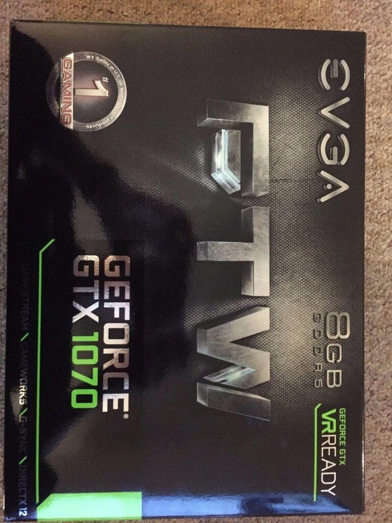GEFORCE GTX 1070 - EVGA FTW 8GB
