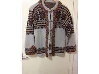Brand new beautiful sweater 100% wool size 10