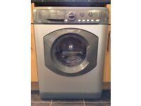 HOTPOINT Aquarius WDL 520 Grey/Graphite WASHER DRYER Washing Machine - 7kg Load - 1200rpm Spin - EXC