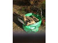 Wood/seasoned logs for wood burning stove /open fire
