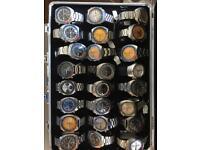 Rolex , Breitling , Omega , Cartier , IWC , Vacheron , Jaeger Watch wanted