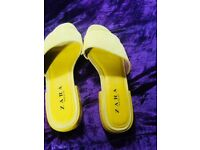 Zara summer shoes size 5