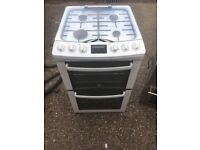 Zanussi gas cooker 1 year old.
