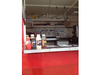 FULLY FUNCTIONING MOBILE CATERING VAN FOR SALE