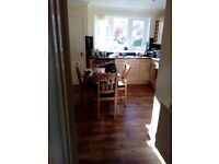 Small oak table and chairs as new