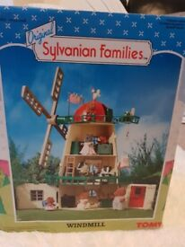 Sylvanian famalies job lot