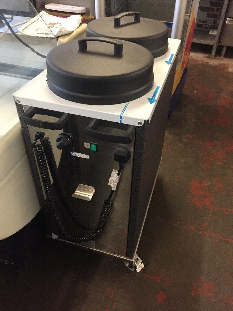 Moffat Twin Tube Heated Plate Dispenser Warmer