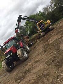 Digger hire ,building and ground works