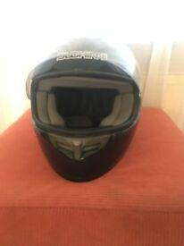 Black Duchinni Motor Bike Helmet (Size Small)