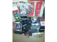 Joblot - ideal for carboot sale - going cheap to clear - mix allsorts - gaming - computer - amp etc