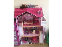 Kiddicare Dolls House - great condition