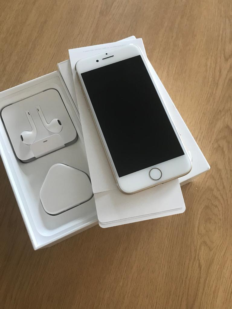 Iphone 7 128gb gold unlocked mint