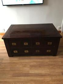 Large NEXT Coffee Storage Chest - Cost £650