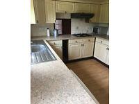 Kitchen units including oven & hob