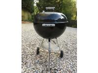 Weber BBQ with wheels