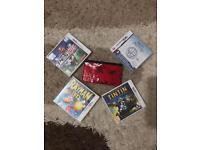 Nintendo 3ds xl red pokemon 4 games