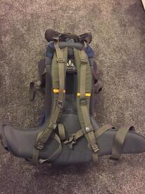 Used Good Condition Vaude papoose with sun shade and rain cover