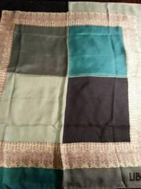 Liberty silk scarf