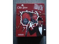 New Old Spice Swagger set boxed, deodorant spray and shower gel