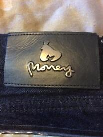 Mens money dollar jeans 32/32