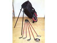 Junior Golf Clubs + bag - Dunlop Max Junior.