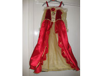 BEAUTIFUL DISNEY BELLE (Beauty & the Beast) Dress age 5-7 - with hoop!