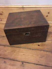 Vintage box solid wood - need some tlc