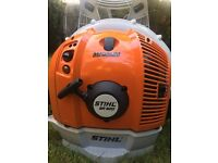 New (only tested) Stihl BR600 Magnum leaf blower. Grab a bargain. Collection only