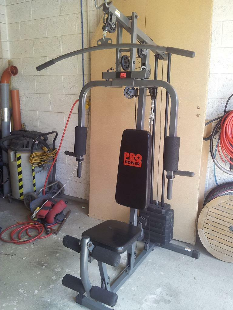 Pro power home multi gym jx b in swindon wiltshire