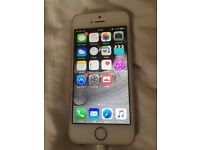 Apple iphone 5s unlocked 16gb in white any network