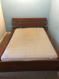 Nice Oak KING SIZE Bed frame