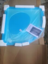 Stone Resin curved shower tray