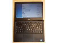 Fast slim Laptop i5 7th. gen 12.5 inch. LED HD screen, DDR4 6GB, M.2 ssd 128GB, Decent gaming VGC