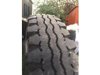 Land Rover series 3 tyre & rims