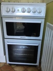 Hotpoint HAG51 P freestanding Gas Cooker (50cm)