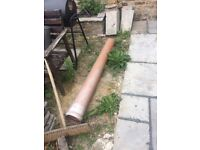 Sewer drain pipe 1.55m length