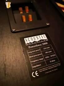 Technic sepertes 300 accoslic floor standing specker to big for flat